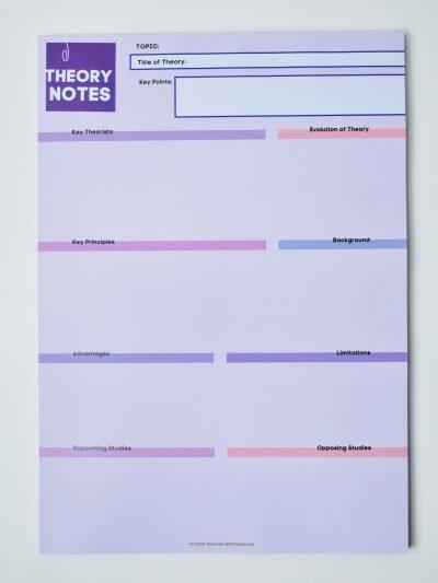 Psychology Theory Notes Notepad